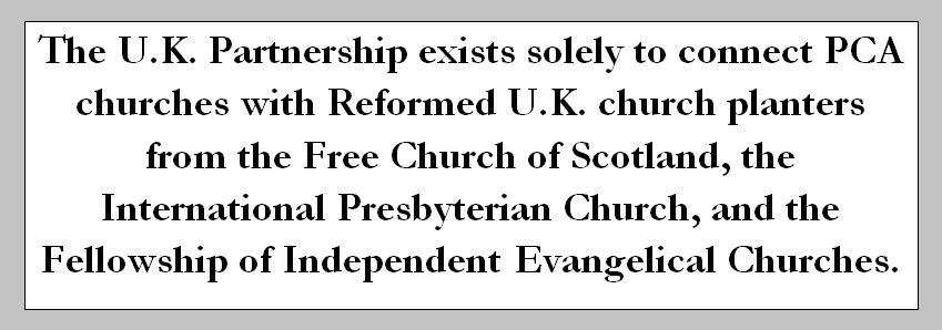 UK Partnership - Missions - Independent Presbyterian Church
