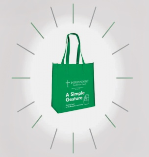 Green Bag Graphic