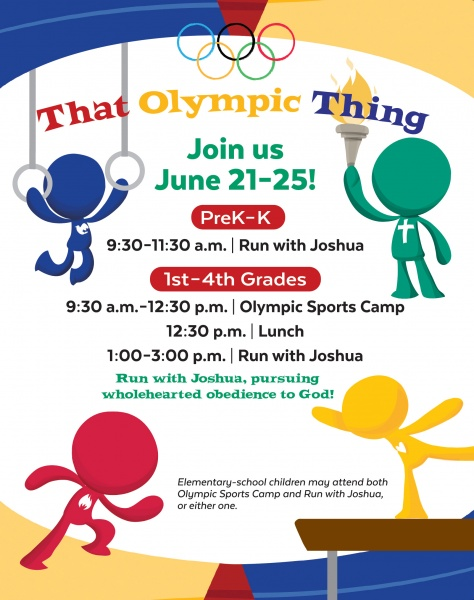 Olympic Thing Web Page