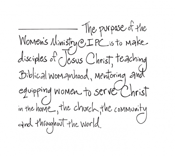 Womens Ministry Mission Statement
