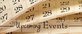 Upcoming Events Fall 2015 2