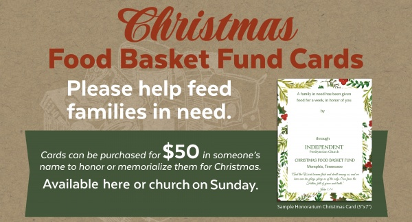 Web Graphic Food Basket Fund Cards